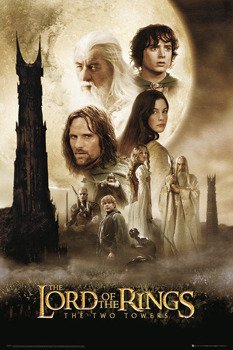 plakat LORD OF THE RINGS - TWO TOWERS - ONE SHEET