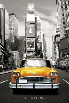 plakat NEW YORK - TAXI NO 1