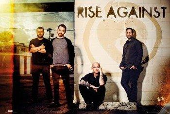 plakat RISE AGAINST: LINE UP