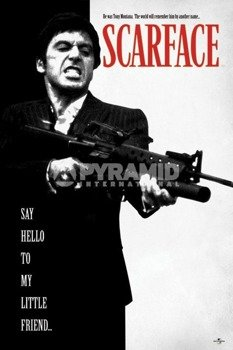 plakat SCARFACE - SAY HELLO TO MY LITTLE FRIEND