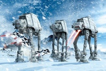 plakat STAR WARS - HOTH BATTLE