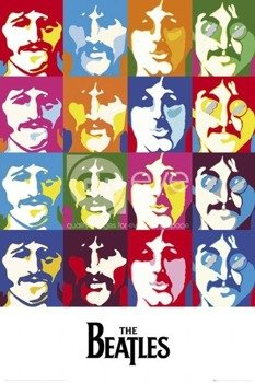 plakat THE BEATLES - SEA OF COLOURS