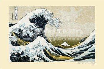 plakat THE GREAT WAVE OF KANAGAWA