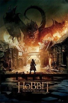 plakat THE HOBBIT - SMAUG