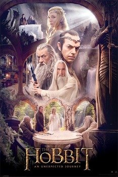 plakat THE HOBBIT - WHITE COUNCIL