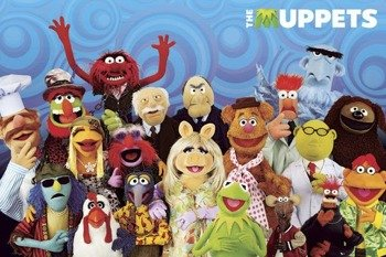 plakat THE MUPPETS - CAST