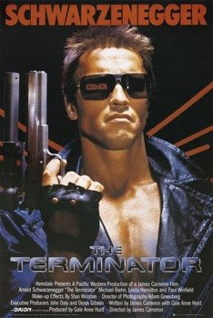 plakat THE TERMINATOR - ONE SHEET