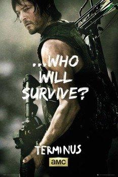 plakat THE WALKING DEAD - DARYL SURVIVE