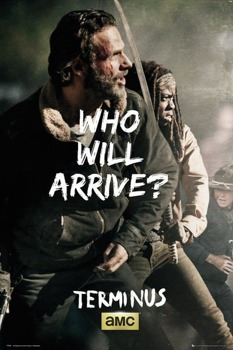 plakat THE WALKING DEAD - RICK AND MICHONNE SURVIVE