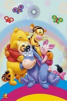 plakat WINNIE THE POOH - RAINBOW HUG