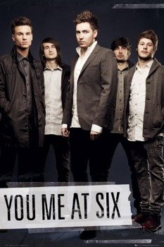 plakat YOU ME AT SIX - TAPE