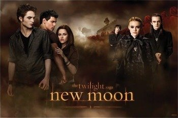 plakat ZMIERZCH - NEW MOON (THREESOME)