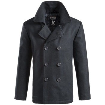 płaszcz marynarski PEA-COAT - NAVY,- SURPLUS