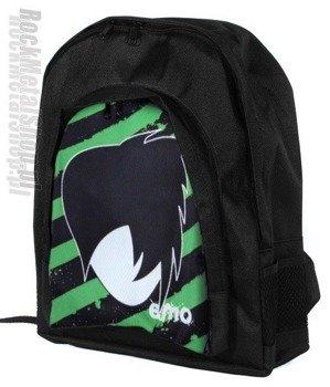 plecak EMO zielone pasy (offset)