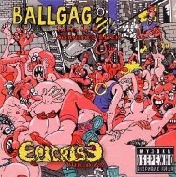 płyta CD: BALLGAG / EPICRISE - KUBLO 69 / TALES OF A CORNERED BITCH