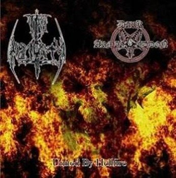 płyta CD: DARK ARMAGEDDON / THY MAJESTY - UNITED BY HELLFIRE (SPLIT CD)