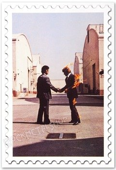 pocztówka PINK FLOYD - WISH YOU WERE HERE SHAKE HANDS