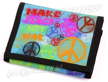 portfel MAKE PEACE NOT WAR