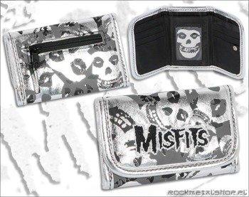 portfel MISFITS - SILVER SKULLS, firma BIOWORLD
