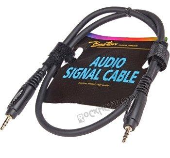 przewód audio BOSTON: JACK /JACK stereo mały (3.5mm) / 0,75m
