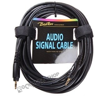 przewód audio BOSTON: JACK /JACK stereo mały (3.5mm) / 6m