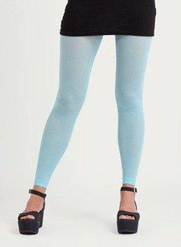 rajstopy blado niebieskie 3D FOOTLESS