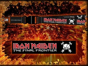 smycz zawieszka IRON MAIDEN - THE FINAL FRONTIER