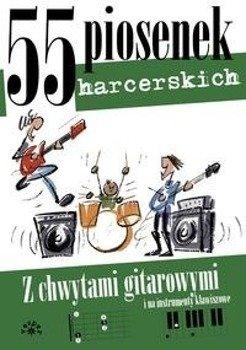 śpiewnik 55 PIOSENEK HARCERSKICH - Miętus Maciej (oprac.)