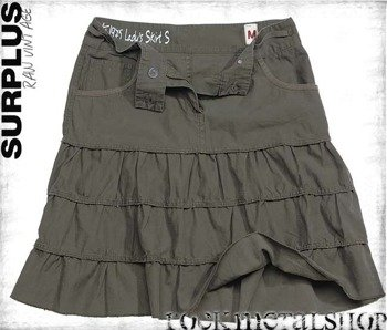 spódnica LADIES SKIRT - OLIVE