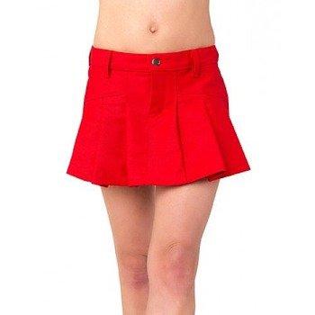 spódniczka BASIC MINI DENIM red