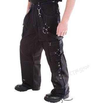 spodnie DEAD THREADS blue