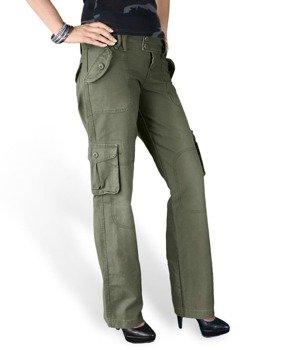 spodnie bojówki DAMSKIE - LADIES TROUSER OLIV