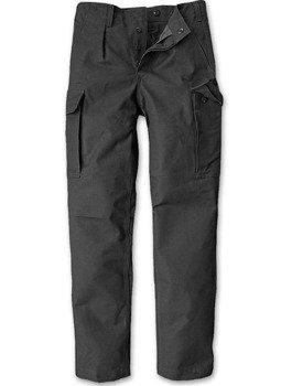 spodnie bojówki MOLESKIN black