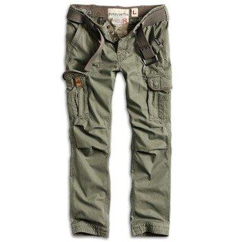spodnie bojówki PREMIUM TROUSERS SLIMMY OLIVE