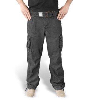 spodnie bojówki PREMIUM VINTAGE BLACK