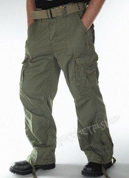 spodnie bojówki ROYAL VINTAGE olive