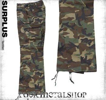 spodnie bojówki US RANGER HOSE - WOODLAND