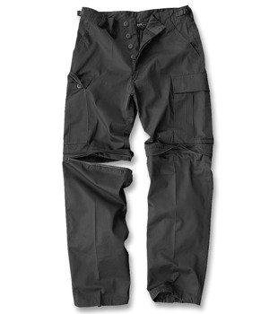 spodnie bojówki ZIP-OFF FELDHOSE TYP BDU SCHWARZ
