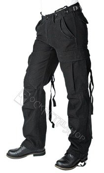 spodnie bojówki damskie M65 BLACK
