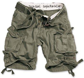 spodnie bojówki krótkie DIVISION SHORTS OLIVE