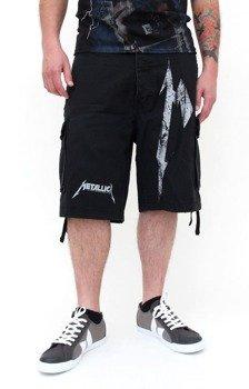 spodnie bojówki krótkie METALLICA - BIG M