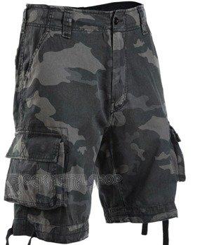 spodnie bojówki krótkie URBAN LEGEND SHORTS - DARKCAMO