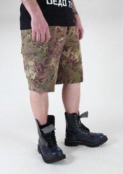 spodnie bojówki krótkie US BERMUDA RIP-STOP COTTON PREWASH VEGETATO