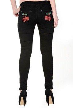 spodnie damskie BANNED - SKULL CHERRIES