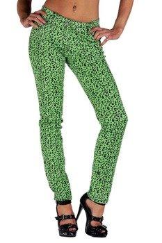 spodnie damskie LIVING DEAD SOULS green (TR367)