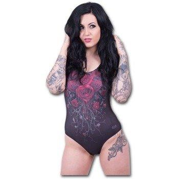 strój kąpielowy SPIRAL - BLOOD ROSE