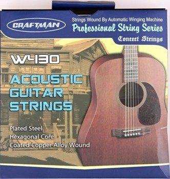 struny do gitary akustycznej CRAFTMAN HEXAGONAL CORE W430-SL /011-052/