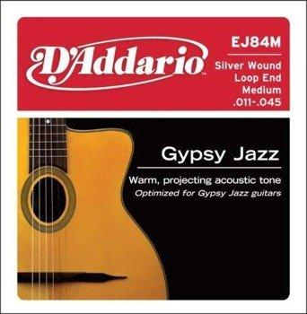 struny do gitary akustycznej D'ADDARIO - GYPSY JAZZ MEDIUM (EJ84M) /011-045/