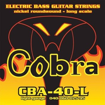 struny do gitary basowej COBRA CBA-40-L NICKEL ROUNDWOUND /040-095/