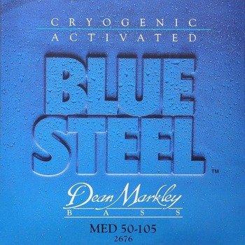 struny do gitary basowej DEAN MARKLEY - BLUE STEEL MED 50-105